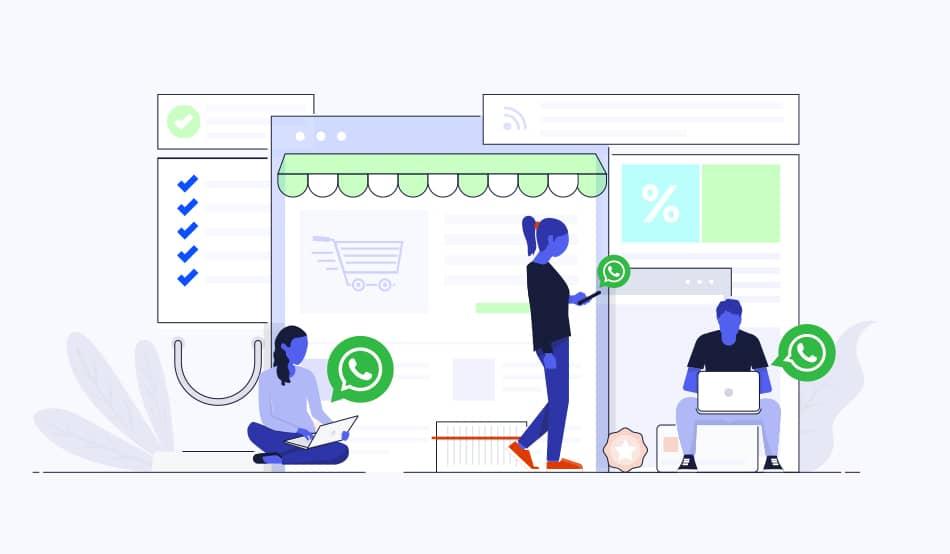 reducir el abandono del carrito Aproveche WhatsApp para la recuperación del carrito
